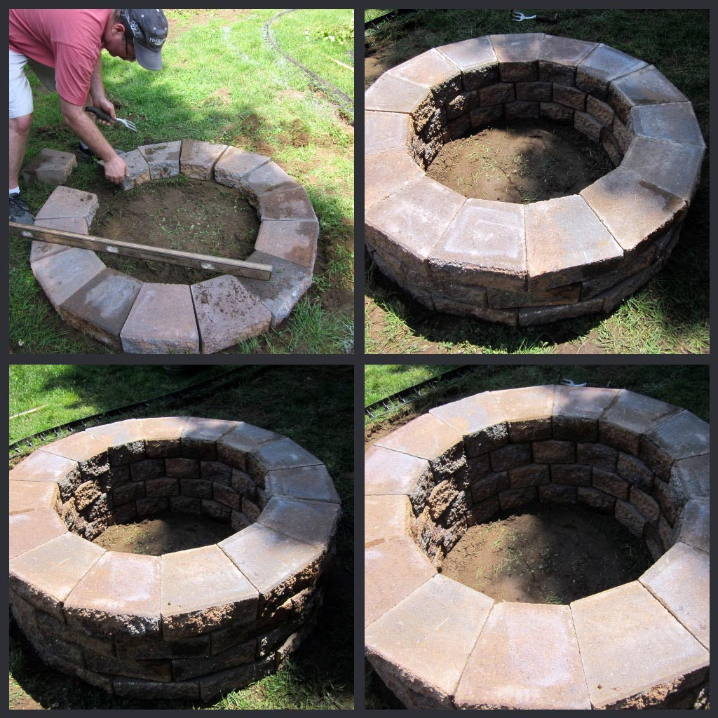 Best ideas about Fire Pits DIY . Save or Pin DIY Brick Fire Pit Tutorial Now.