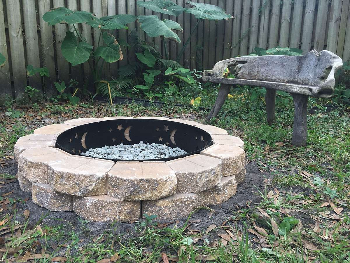 Best ideas about Fire Pits DIY . Save or Pin My $75 DIY fire pit howchoo Now.