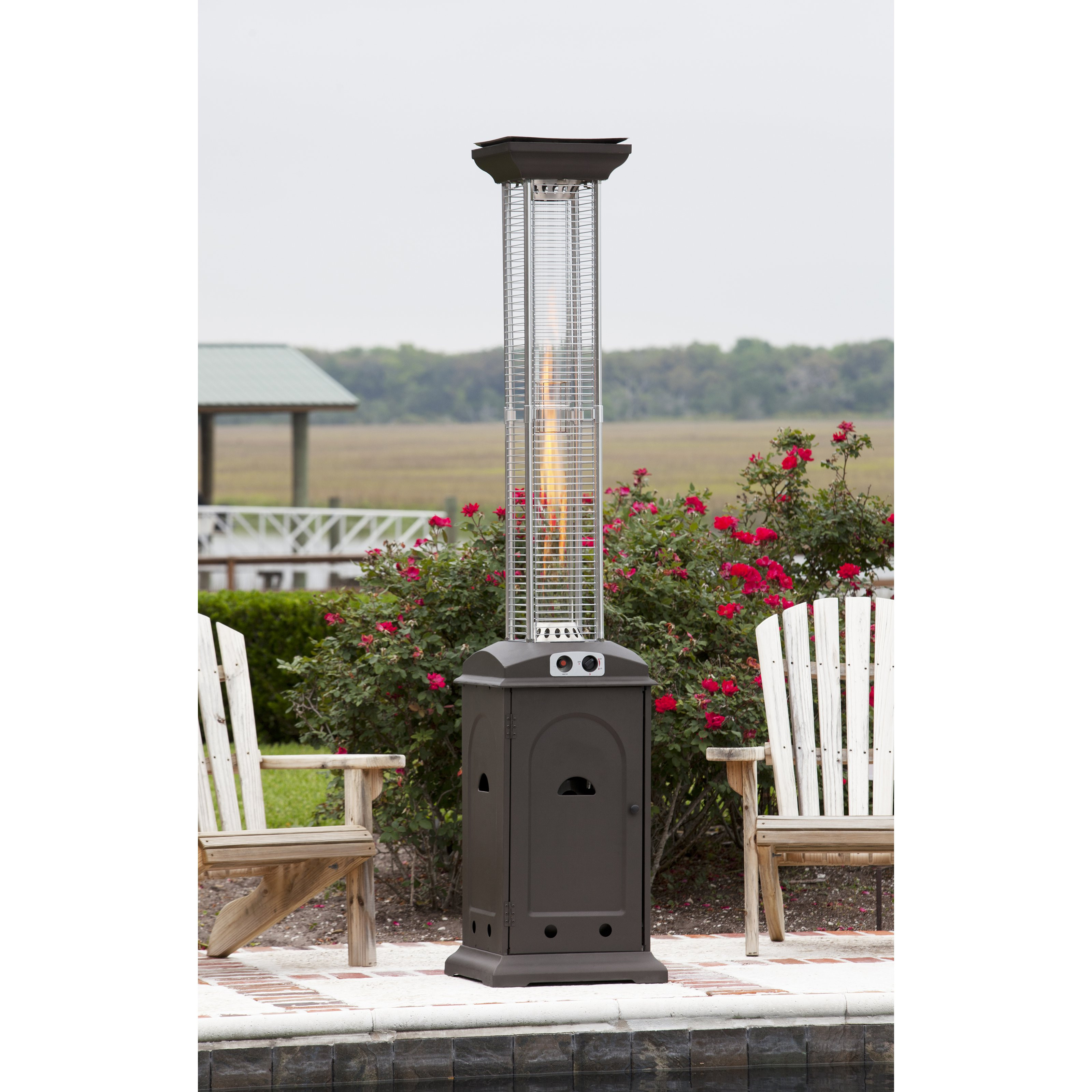 Best ideas about Fire Sense Patio Heater . Save or Pin Fire Sense Mocha Glass Tube Patio Heater at Hayneedle Now.