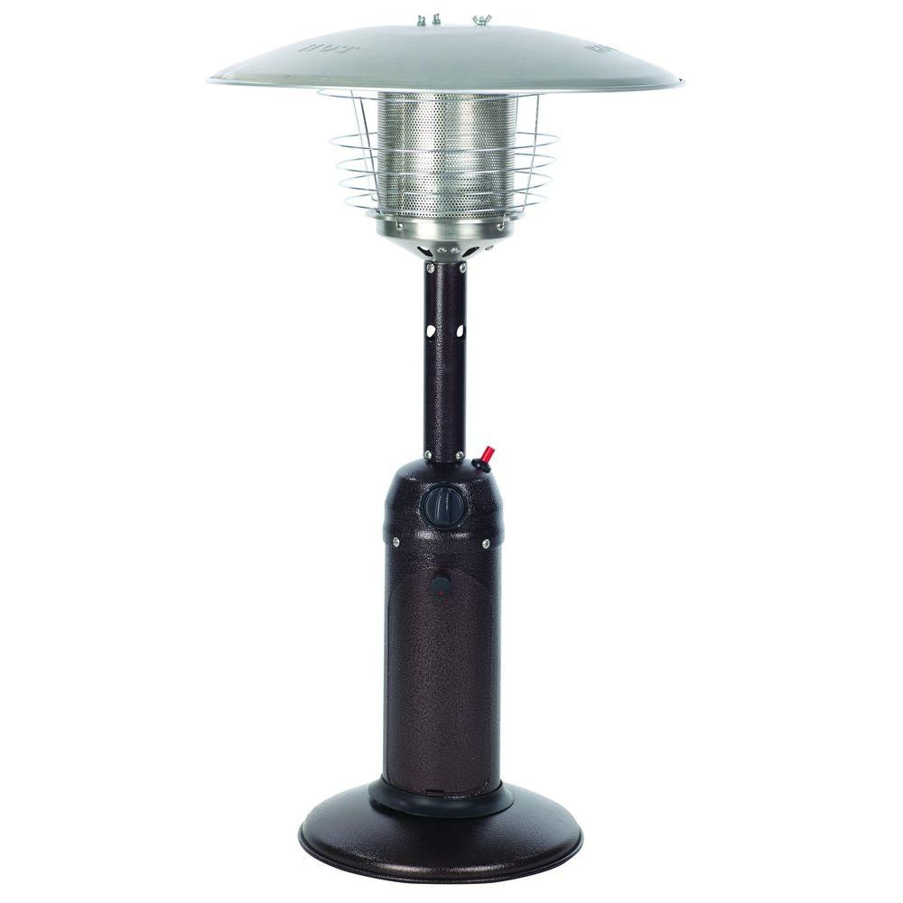Best ideas about Fire Sense Patio Heater . Save or Pin Fire Sense 10 000 BTU Hammered Bronze Tabletop Propane Gas Now.