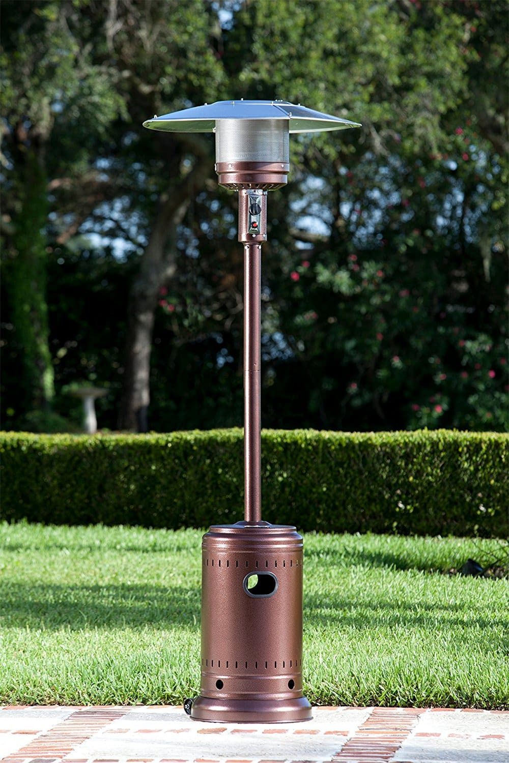 Best ideas about Fire Sense Patio Heater . Save or Pin Fire Sense Hammer Tone mercial Patio Heater – Bronze Now.