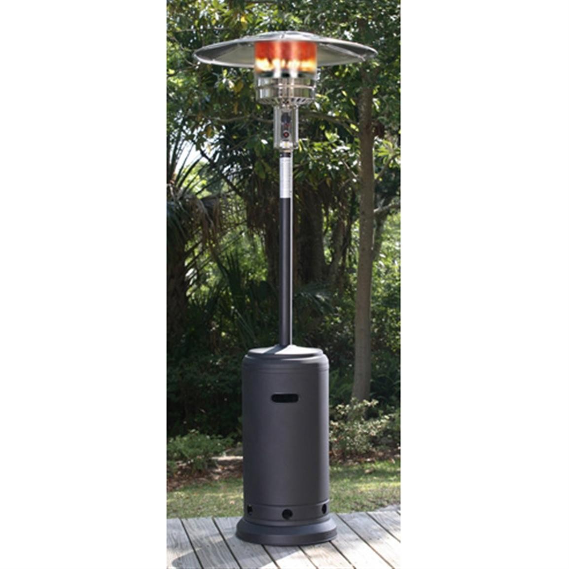 Best ideas about Fire Sense Patio Heater . Save or Pin Fire Sense Black Powder Coated Standard Patio Heater Now.