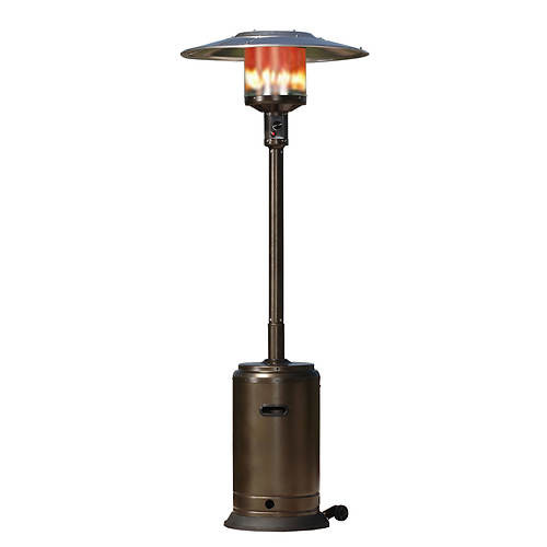 Best ideas about Fire Sense Patio Heater . Save or Pin Fire Sense Hammer Tone Bronze Patio Heater Now.