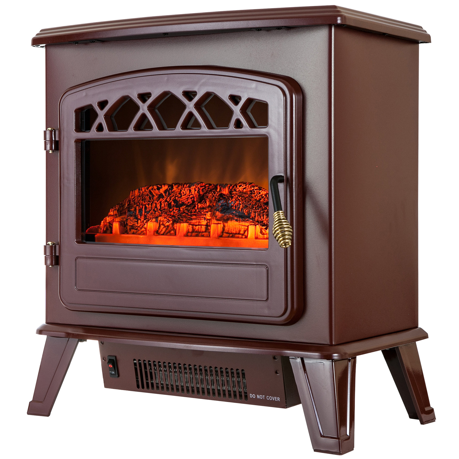 "Best ideas about Fireplace Electric Heater . Save or Pin 20"" 1500W Adjustable Freestanding Electric Fireplace Now."