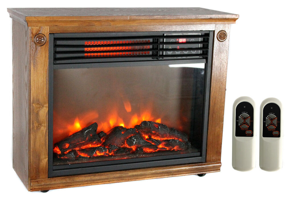 Best ideas about Fireplace Electric Heater . Save or Pin Lifesmart Lifepro LS 1111HH Infrared Quartz Electric Now.