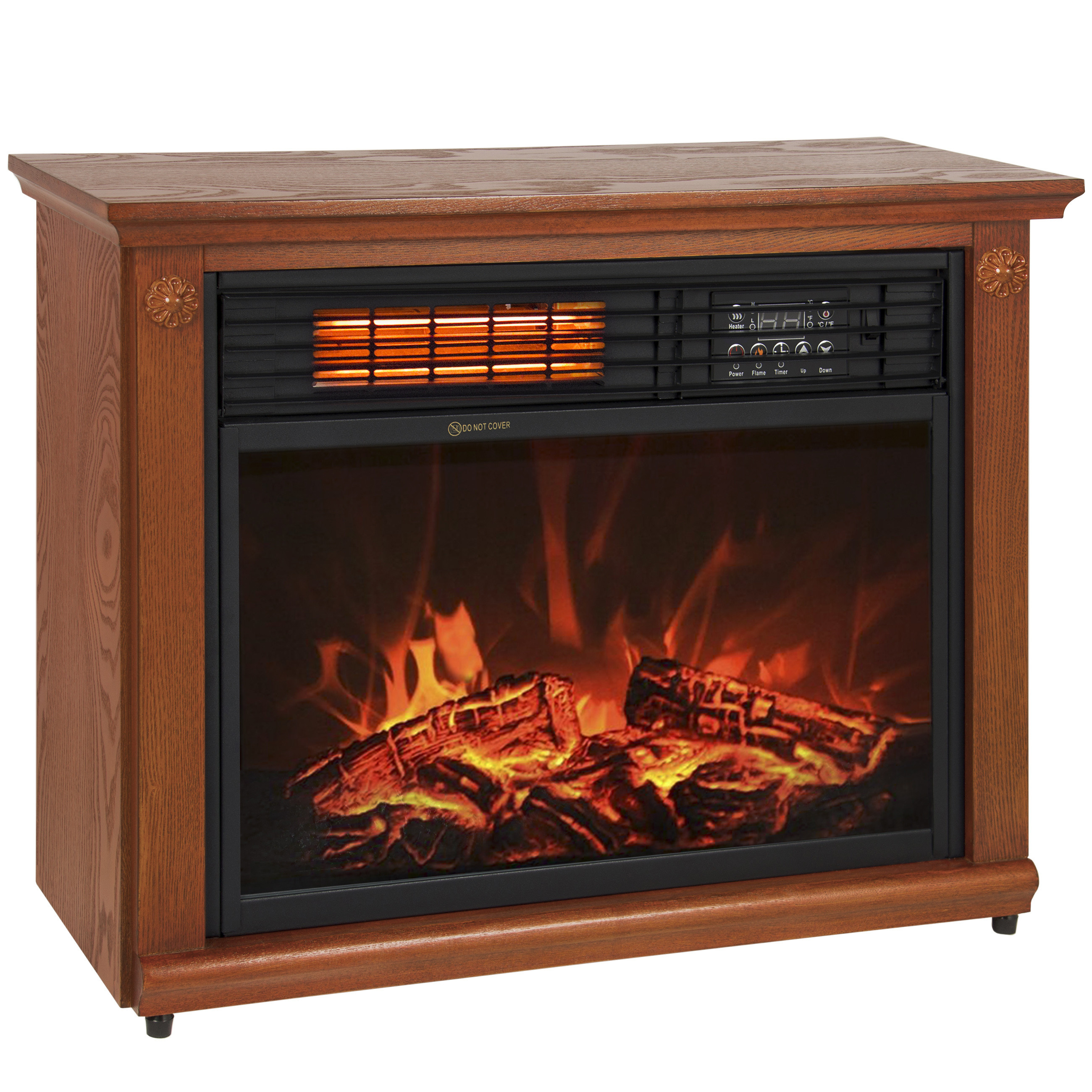 Best ideas about Fireplace Electric Heater . Save or Pin Room Infrared Quartz Electric Fireplace Heater Honey Now.