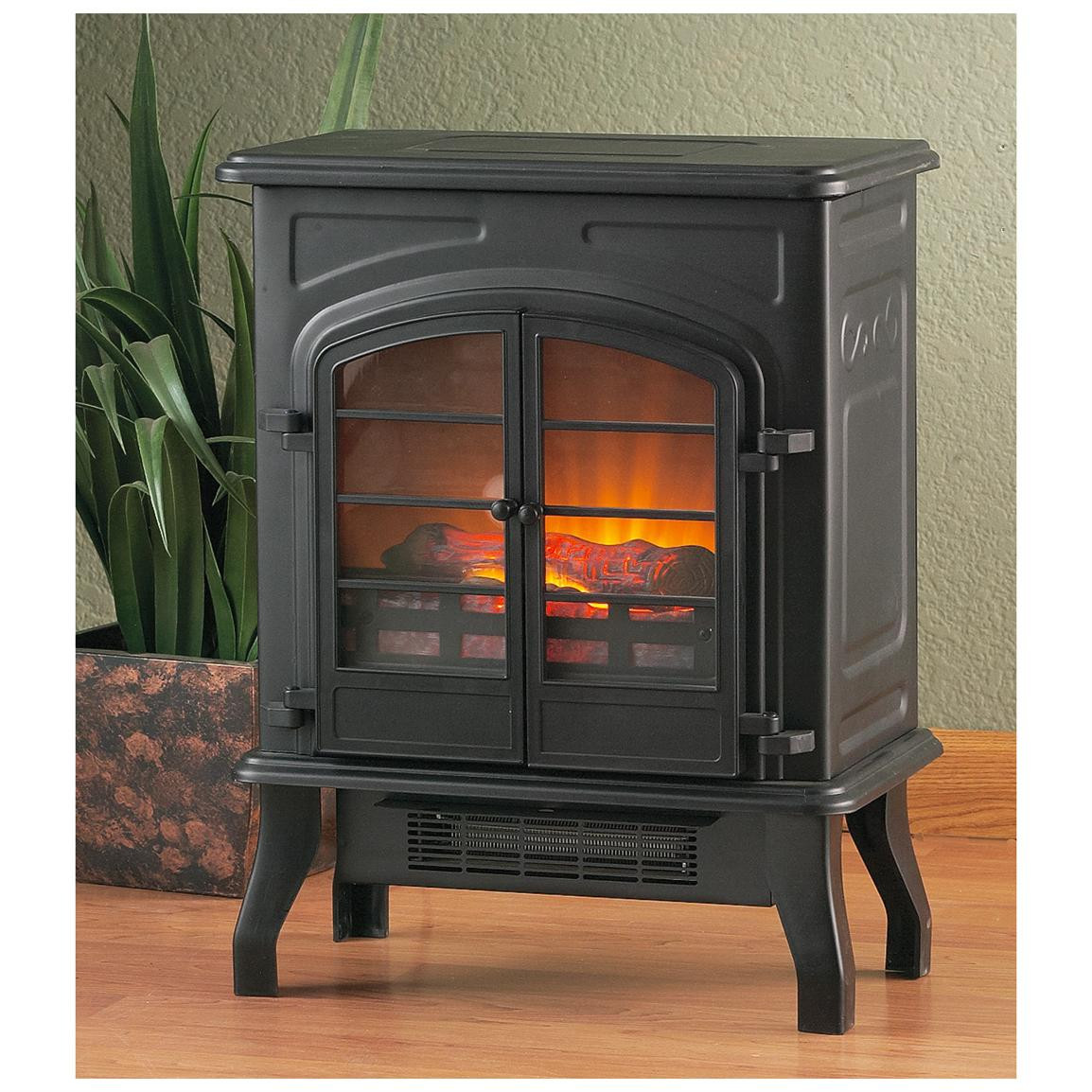 Best ideas about Fireplace Electric Heater . Save or Pin CASTLECREEK™ Electric Stove Heater Fireplaces at Now.