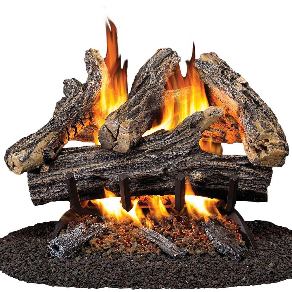 Best ideas about Fireplace Gas Logs . Save or Pin Pro 18 in Vented Natural Gas Fireplace Log Set WAN18N Now.
