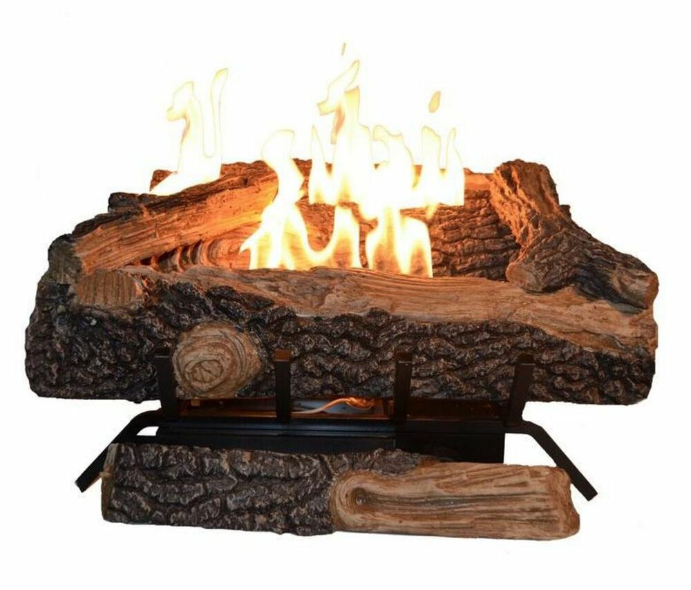 Best ideas about Fireplace Gas Logs . Save or Pin 24 in Vent Free Gas Fireplace Logs Natural Propane Log Now.