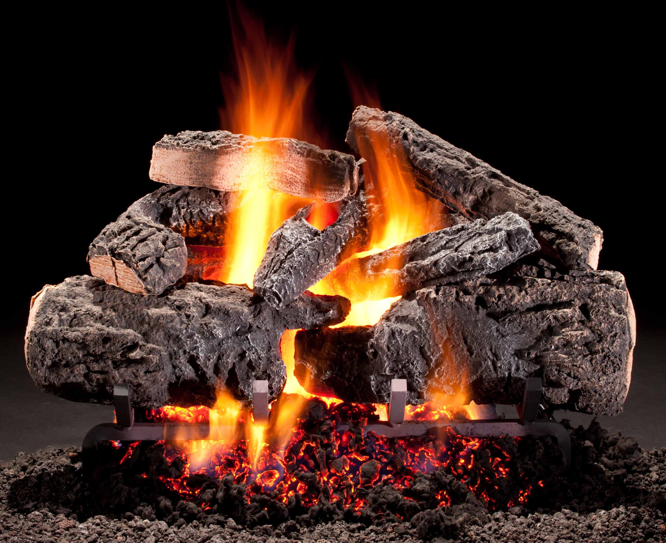 Best ideas about Fireplace Gas Logs . Save or Pin Gas Logs Pellet Fuel Now.