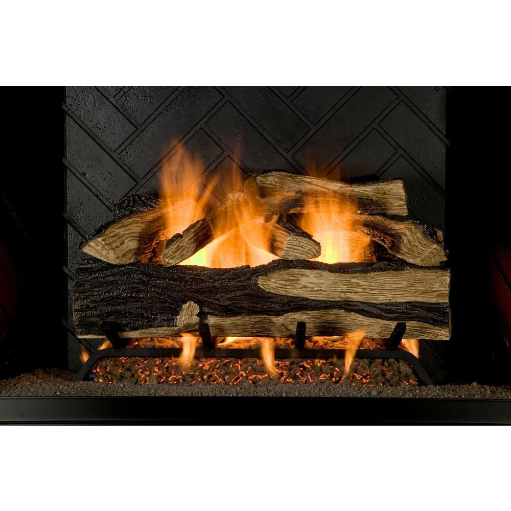 Best ideas about Fireplace Gas Logs . Save or Pin Emberglow Savannah Oak 18 in Vent Free Propane Gas Now.