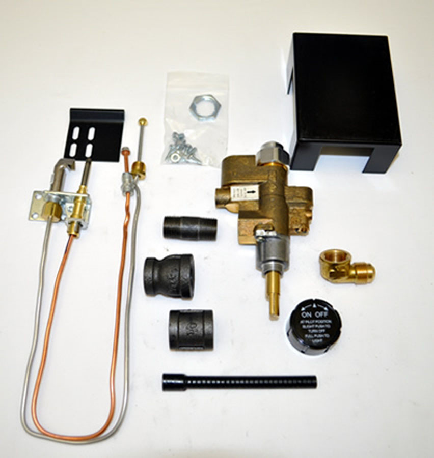 Best ideas about Fireplace Gas Valve . Save or Pin Copreci 91PKN Natural Gas Safety Pilot Kit with Rear Inlet Now.