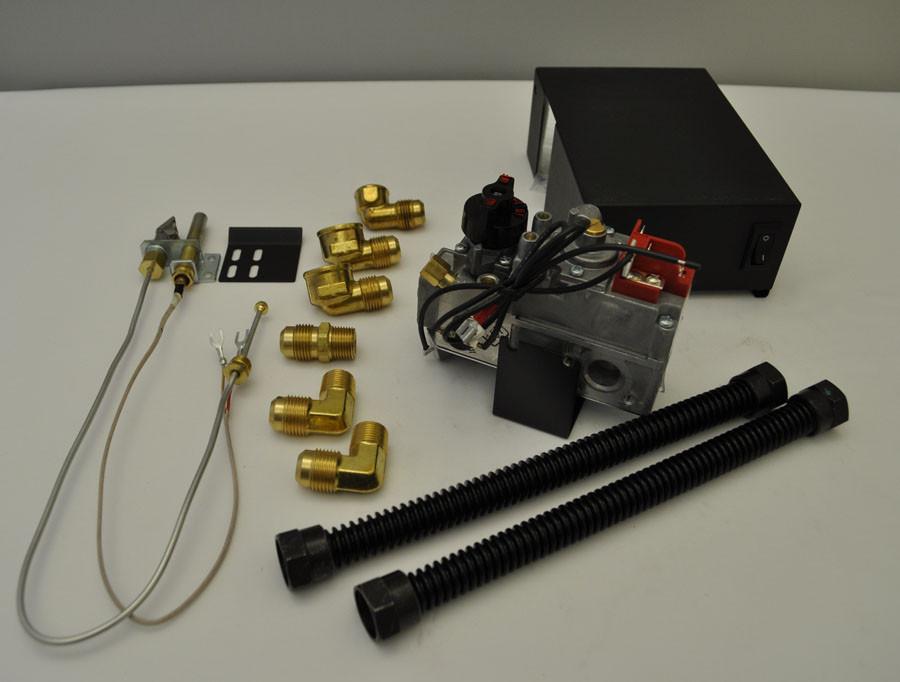 Best ideas about Fireplace Gas Valve . Save or Pin Dexen 6003 Series Natural Gas Millivolt Valve Kit Now.