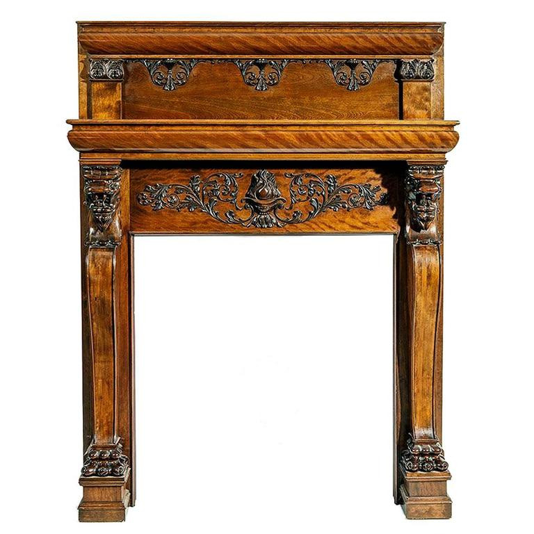 Best ideas about Fireplace Mantels For Sale . Save or Pin A Magnificent Antique Carved Fireplace Mantel For Sale at Now.