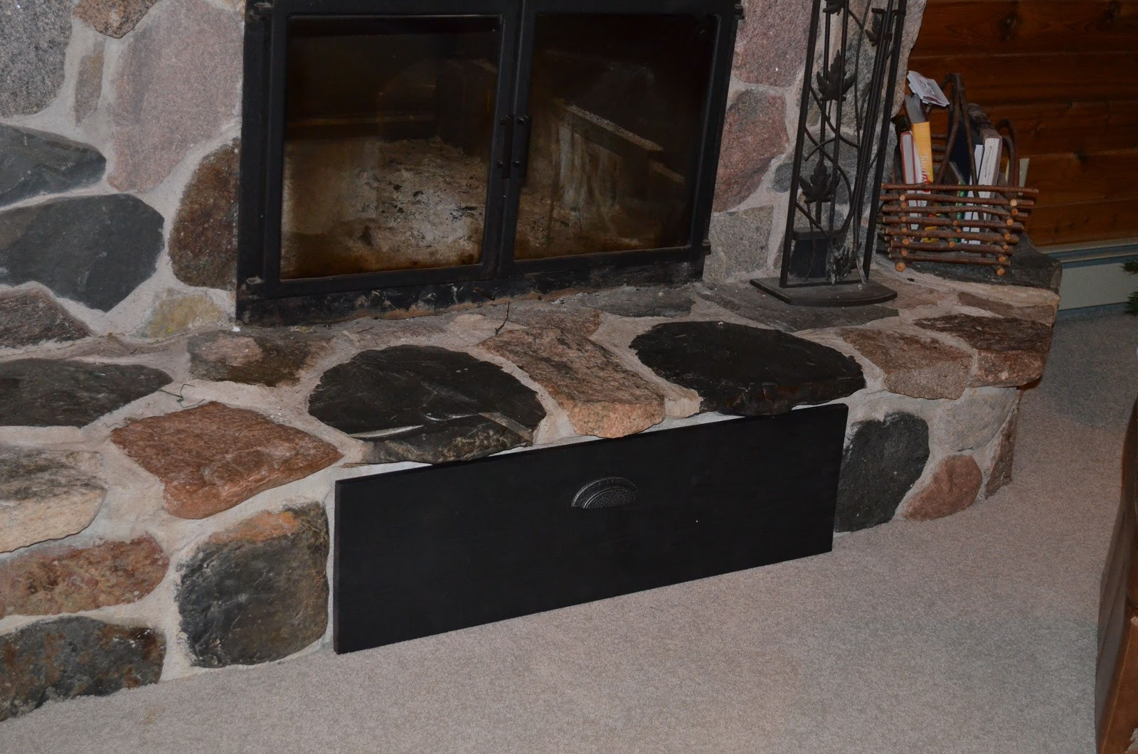 Best ideas about Fireplace Vent Cover . Save or Pin Artful Panoply Fireplace Vent Cover to Keep out Draft Now.