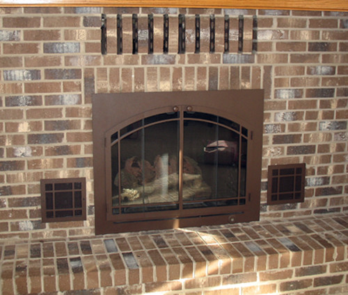 Best ideas about Fireplace Vent Cover . Save or Pin Artistic Design NYC Fireplaces and Outdoor Kitchens Now.