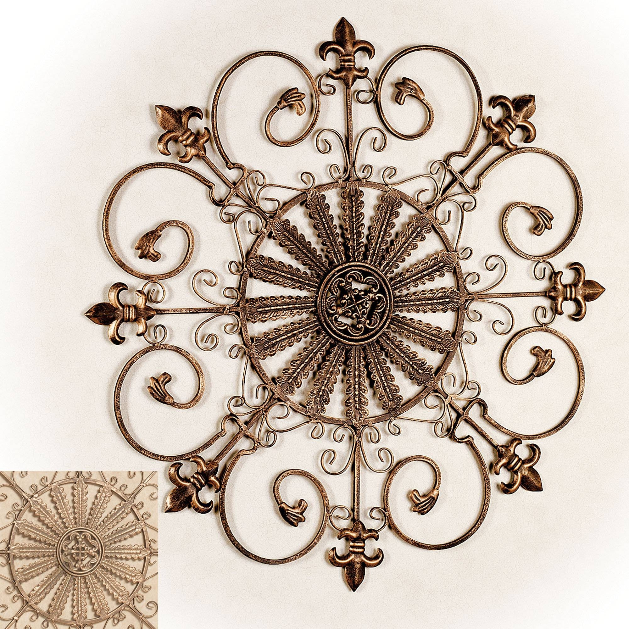 Best ideas about Fleur Di Lis Wall Art . Save or Pin 25 Ideas of Metal Fleur De Lis Wall Art Now.