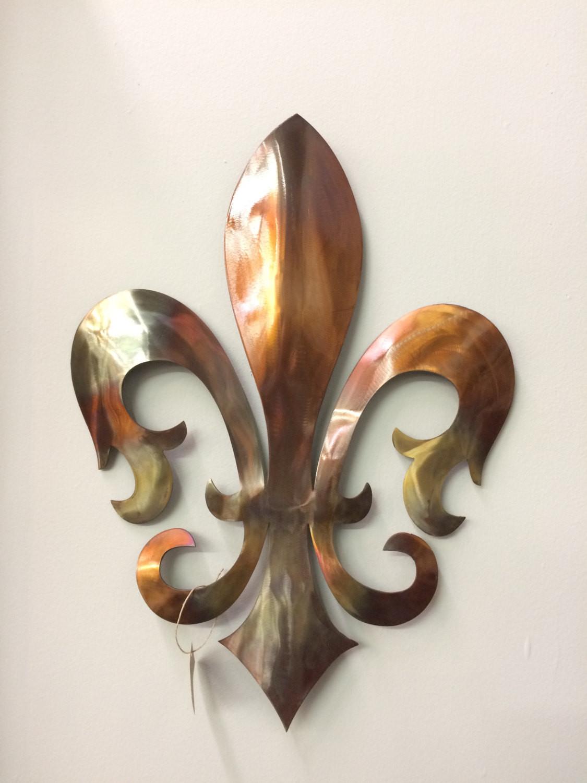 Best ideas about Fleur Di Lis Wall Art . Save or Pin Royal Fleur De Lis Metal Wall Decor home decor by Now.