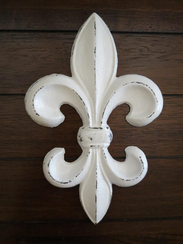 Best ideas about Fleur Di Lis Wall Art . Save or Pin Fleur de Lis Wall Decor Cast Iron Wall Decor Fleur de Lis Now.