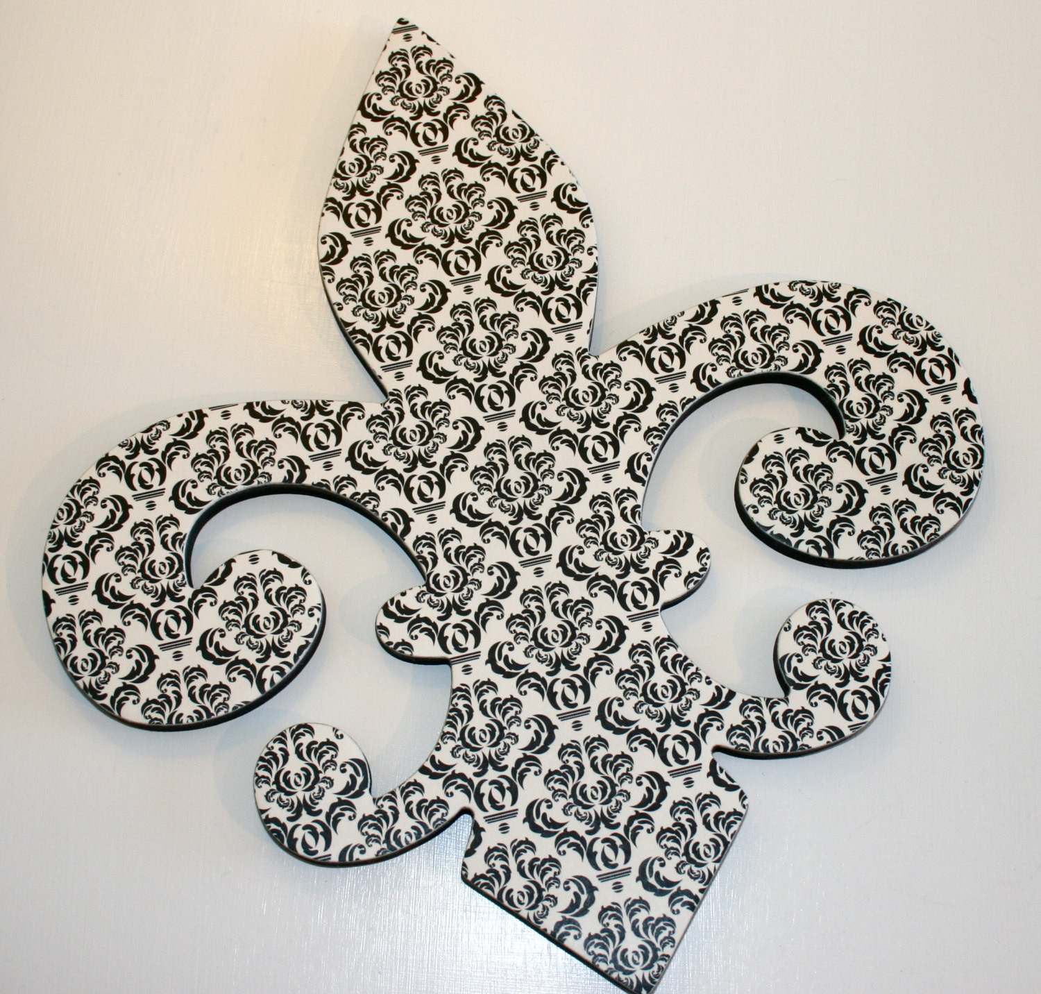 Best ideas about Fleur Di Lis Wall Art . Save or Pin Fleur de lis wall decor Black and white wall decor French Now.