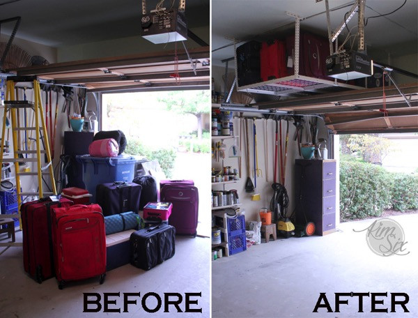 Best ideas about Fleximounts Garage Storage . Save or Pin Tackle Garage Clutter With Overhead Storage A Fleximount Now.