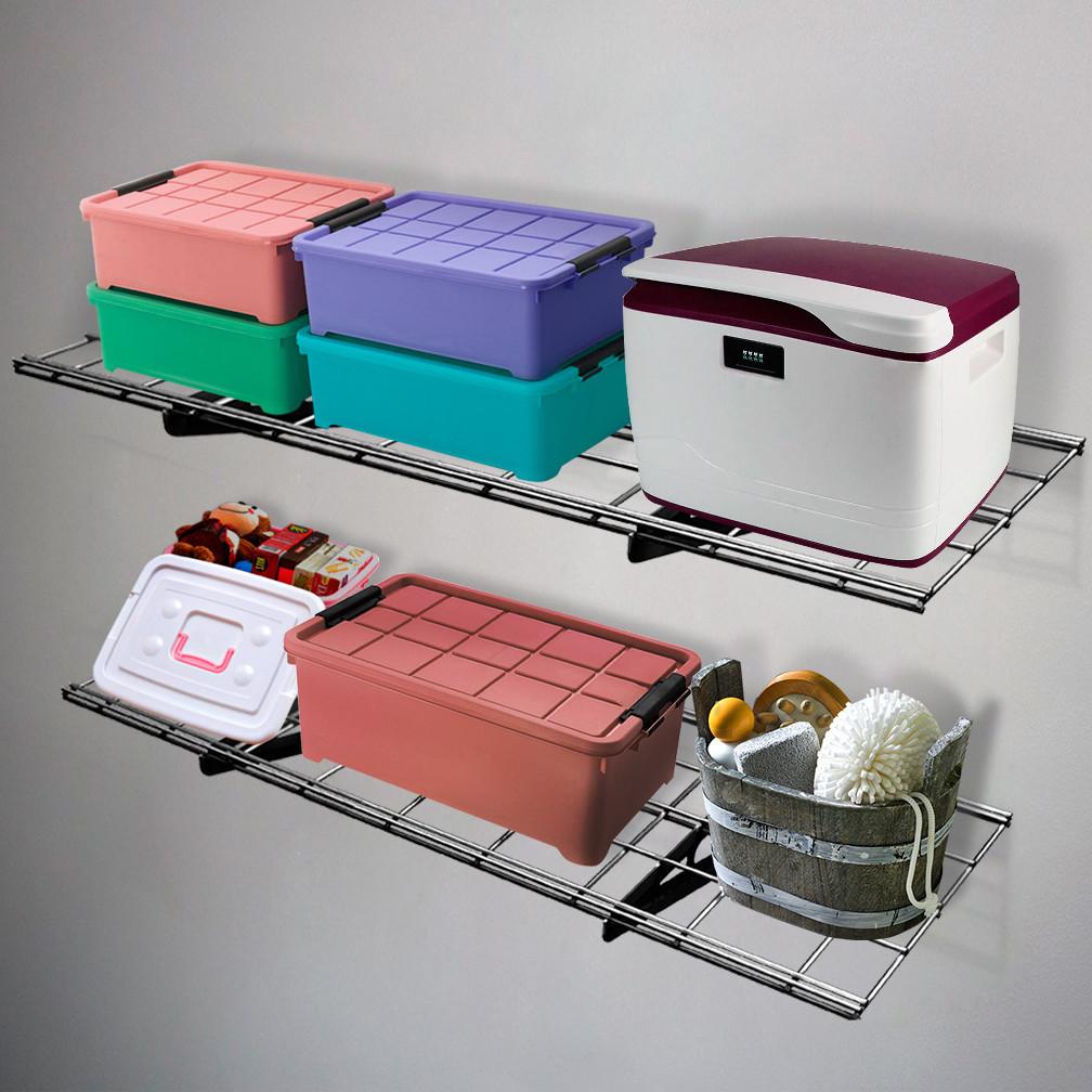 Best ideas about Fleximounts Garage Storage . Save or Pin FLEXIMOUNTS Garage Storage Rack Wall Shelf Now.