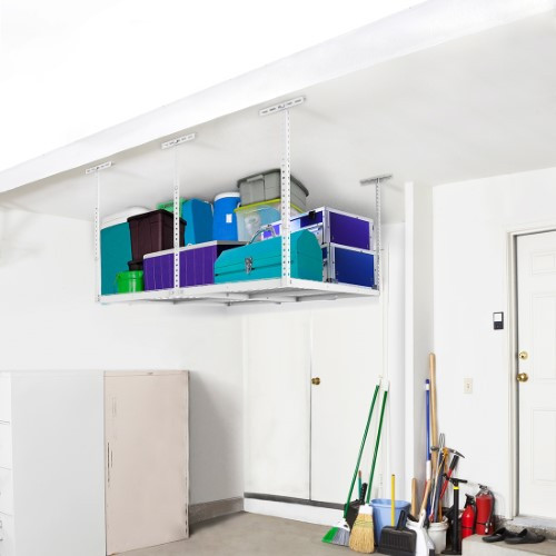 Best ideas about Fleximounts Garage Storage . Save or Pin FLEXIMOUNTS 2x8 4x4 Overhead Garage Storage Rack Ceiling Now.