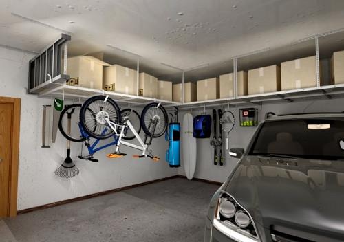Best ideas about Fleximounts Garage Storage . Save or Pin GR48 4′ x 8′ Overhead Garage Storage Rack – Fleximounts Now.