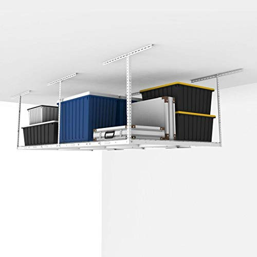Best ideas about Fleximounts Garage Storage . Save or Pin FLEXIMOUNTS 4x8 Overhead Garage Storage Rack Adjustable Now.
