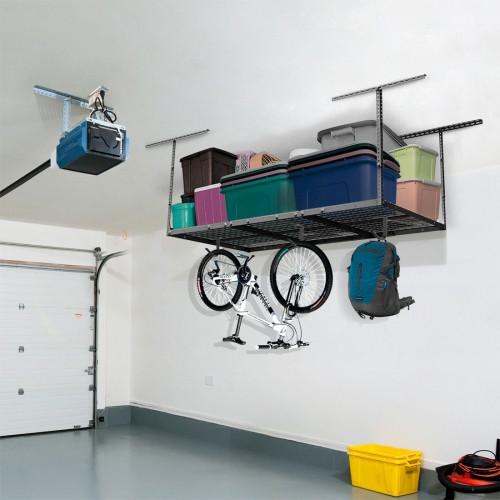 Best ideas about Fleximounts Garage Storage . Save or Pin GR36 3′ x 6′ Overhead Garage Storage Rack – Fleximounts Now.