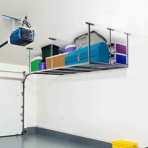Best ideas about Fleximounts Garage Storage . Save or Pin FLEXIMOUNTS 4×8 Heavy Duty Overhead Garage Adjustable Now.