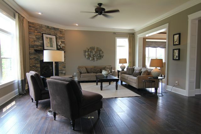 Best ideas about Floor Paint Colors . Save or Pin moulding floor fireplace Now.