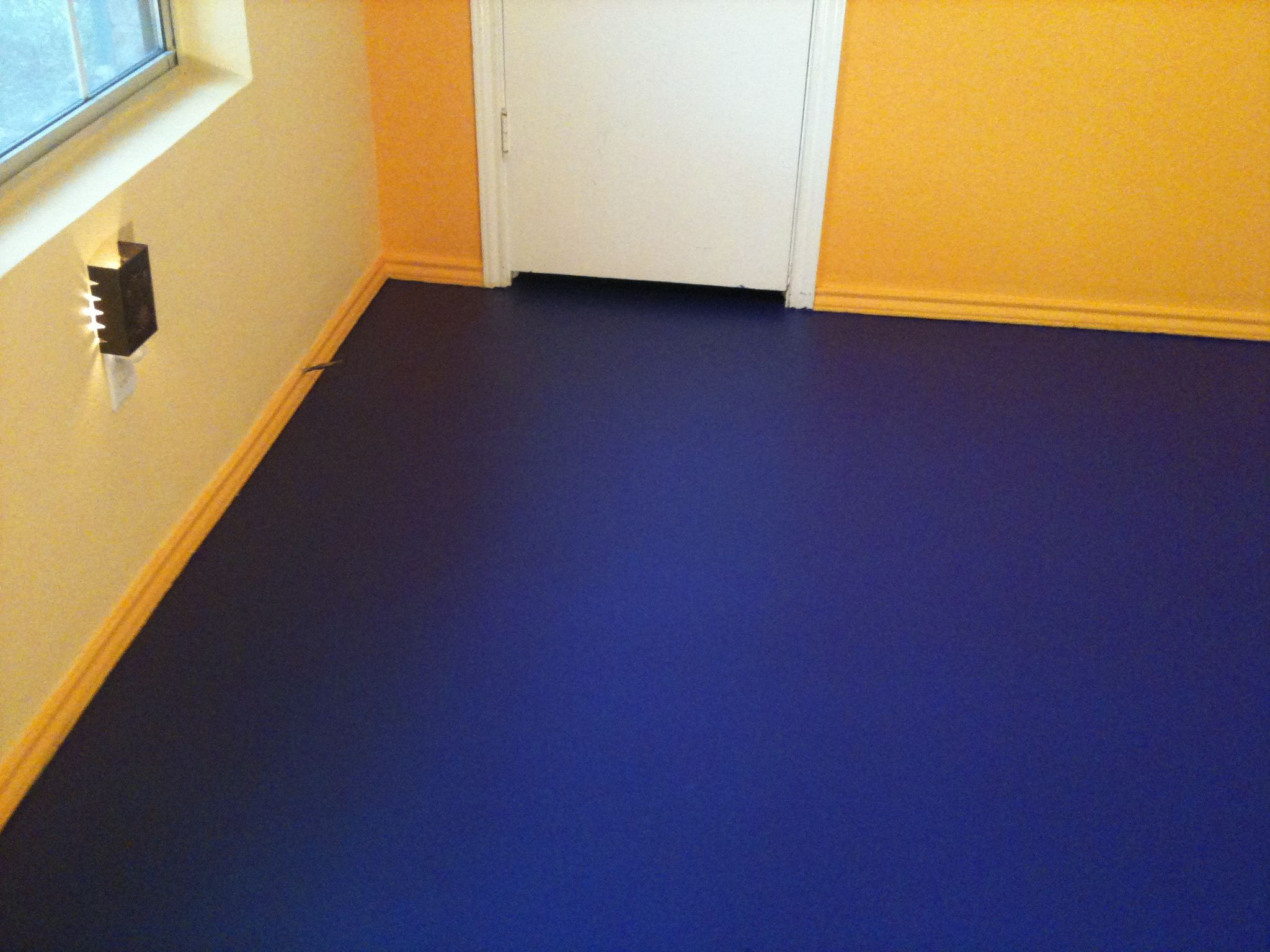 Best ideas about Floor Paint Colors . Save or Pin Samples flooring Extraordinary Painted Concrete Floors Now.