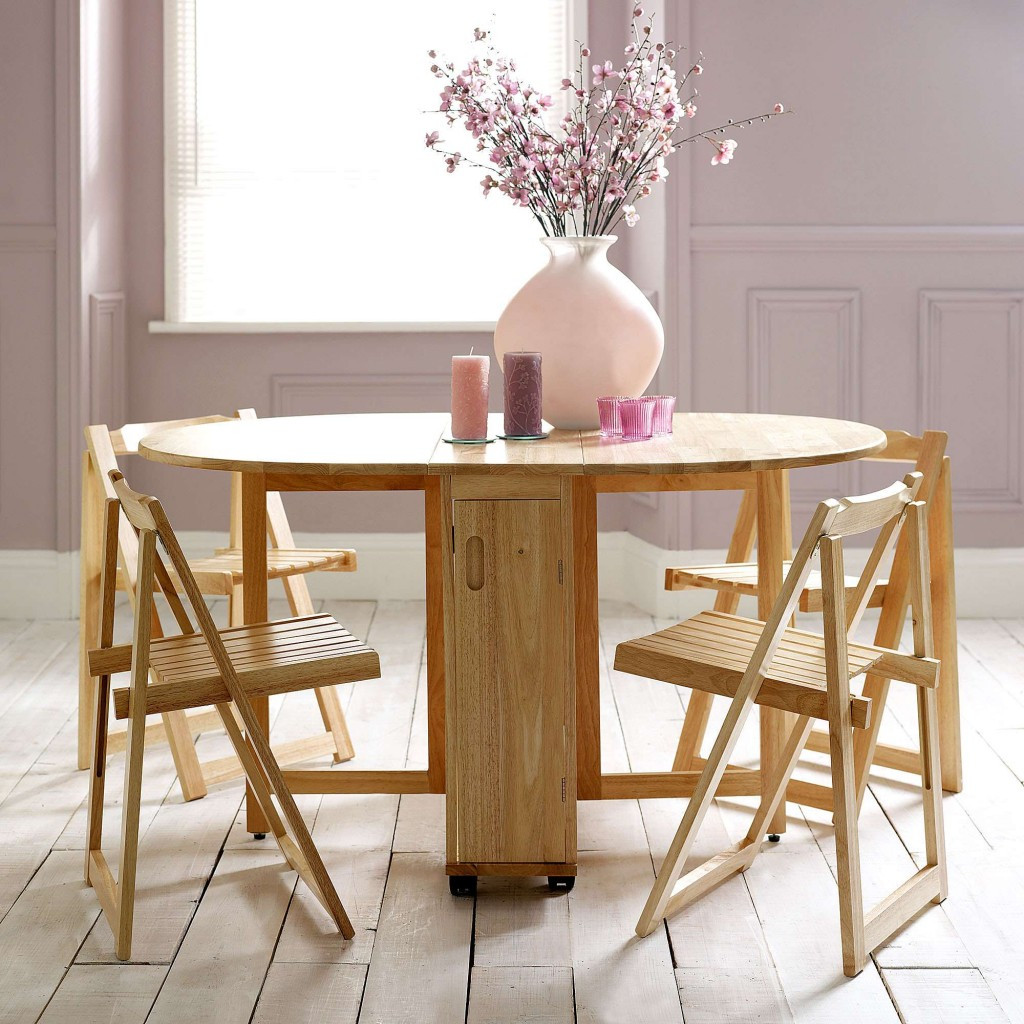 Best ideas about Foldable Dining Table . Save or Pin Choose a Folding Dining Table for a Small Space – Adorable Now.