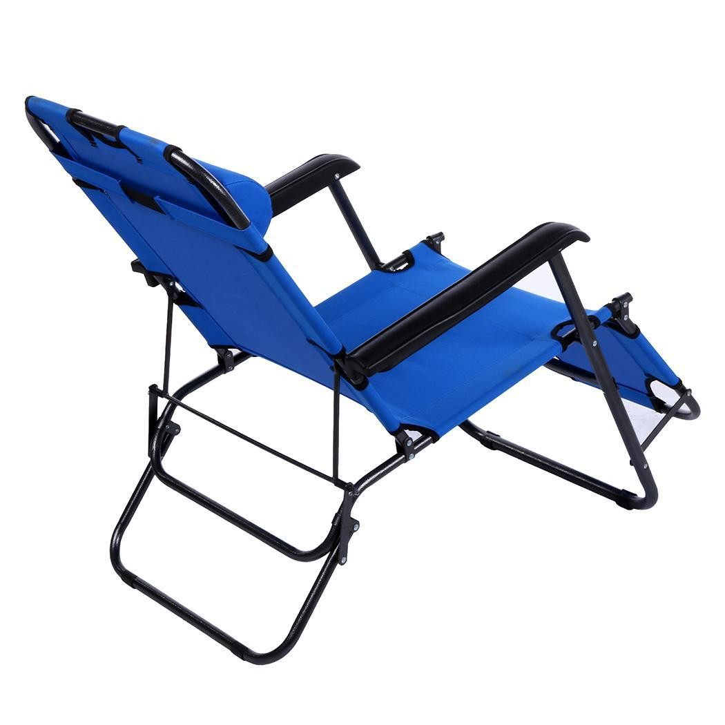 Best ideas about Folding Chairs Outdoor . Save or Pin Folding Chaise Lounge Chair Patio Outdoor Pool Beach Lawn Now.