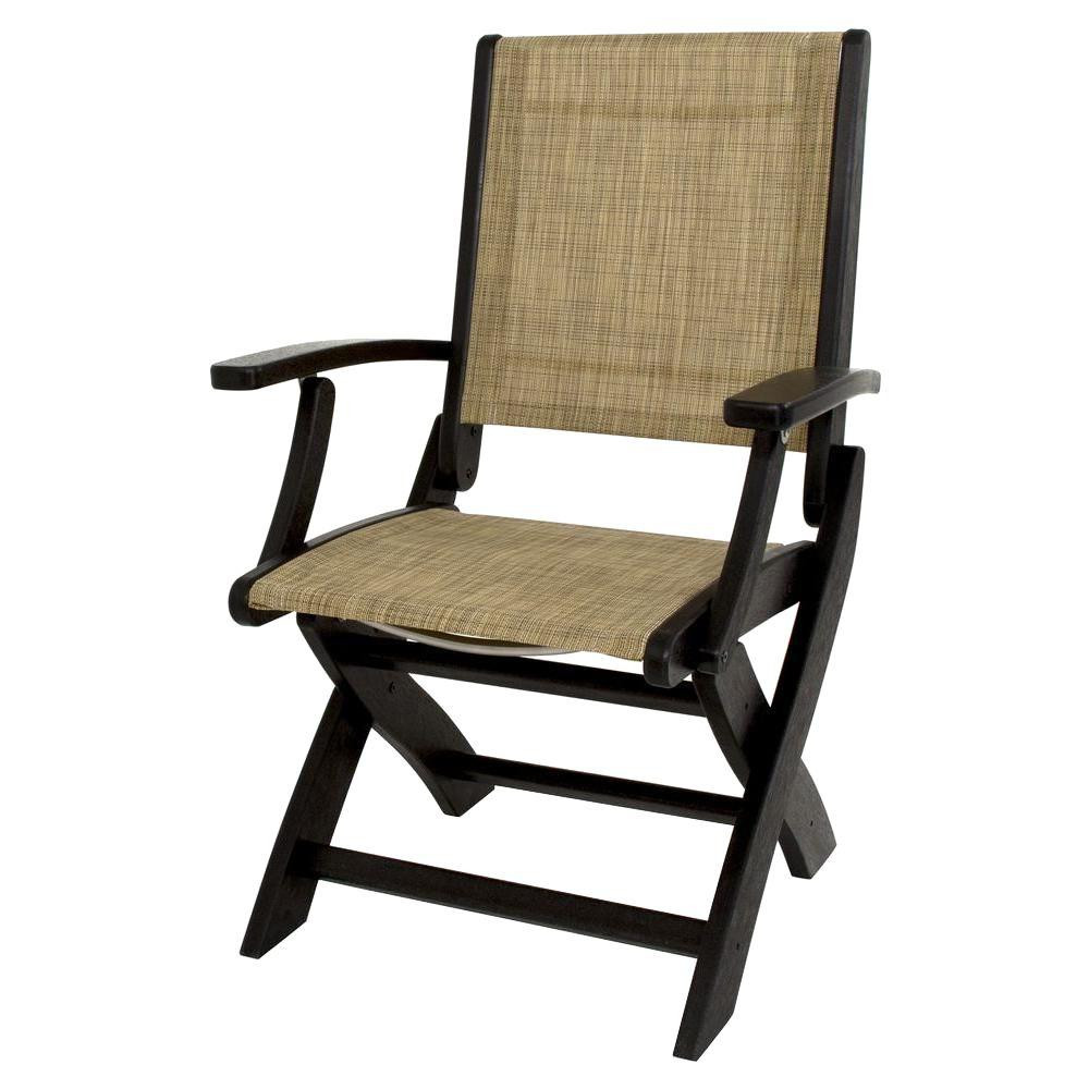 Best ideas about Folding Chairs Outdoor . Save or Pin Quik Shade Royal Blue Patio Folding Chair with Sun Shade Now.