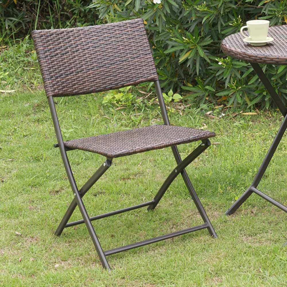 Best ideas about Folding Chairs Outdoor . Save or Pin 2 pc Casual Patio Outdoor Garden Deck Foldable Folding Now.