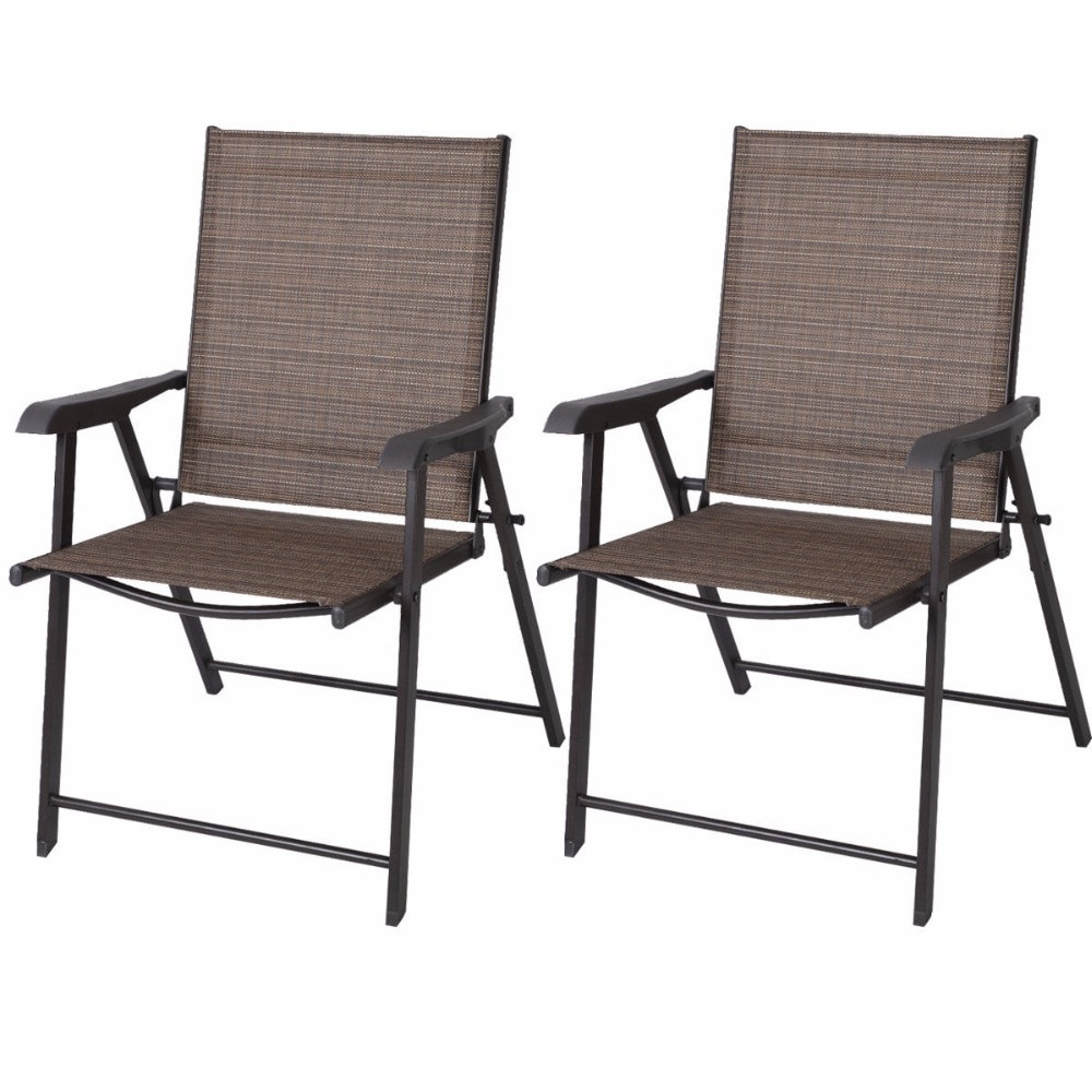 Best ideas about Folding Chairs Outdoor . Save or Pin Aliexpress Buy Set of 2 Outdoor Patio Folding Chairs Now.