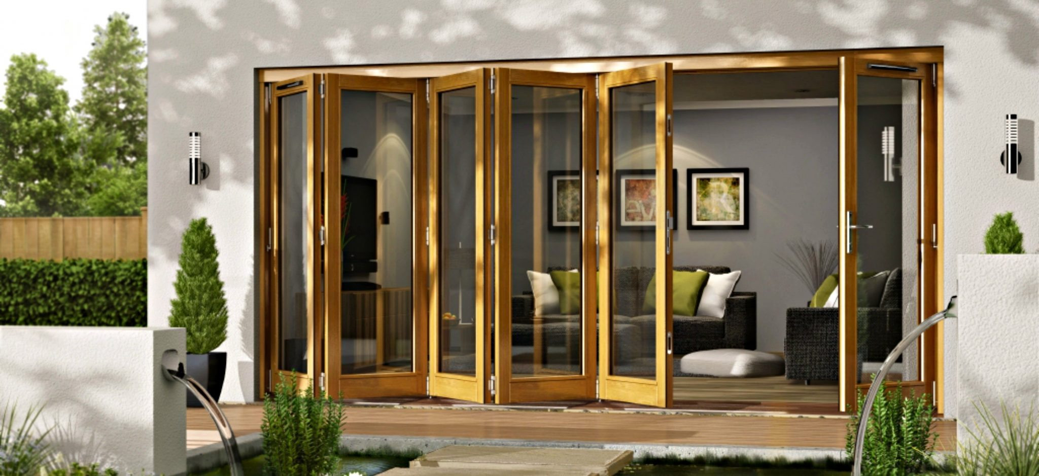 Best ideas about Folding Patio Doors . Save or Pin External Folding and Sliding Doors Patio Doors from Doors Now.