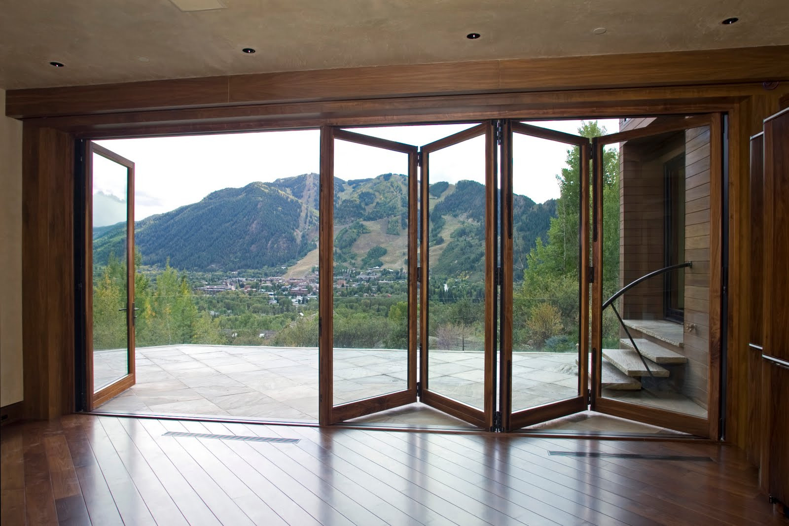 Best ideas about Folding Patio Doors . Save or Pin Grabill Windows and Doors Product Highlight Folding Doors Now.