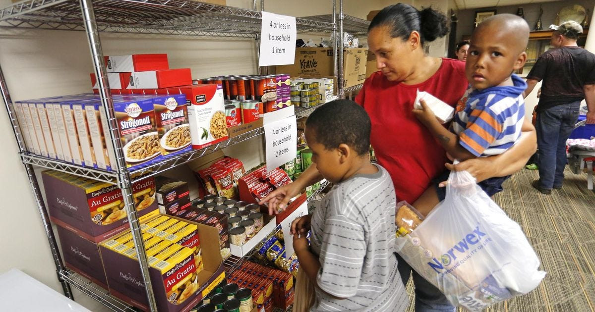 Best ideas about Food Pantry Open Today . Save or Pin First on site school food pantry opens Now.