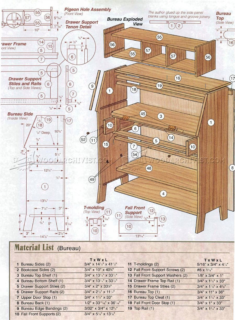 Best ideas about Free Arts And Crafts Woodworking Plans . Save or Pin Arts and Crafts Bookcase Plans • WoodArchivist Now.
