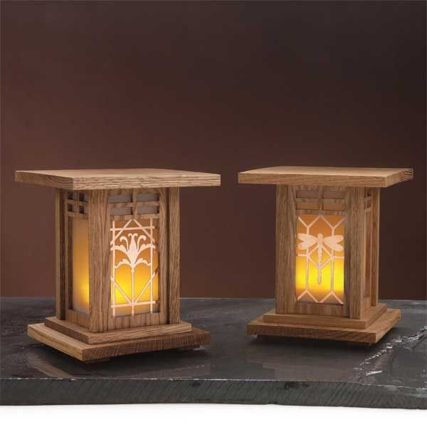 Best ideas about Free Arts And Crafts Woodworking Plans . Save or Pin Medium luminaries 600 wood plans Pinterest Now.