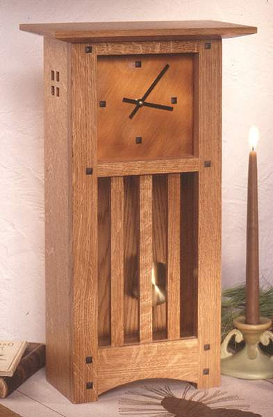 Best ideas about Free Arts And Crafts Woodworking Plans . Save or Pin Arts and Crafts Mantle Clock Woodworking Plan Now.