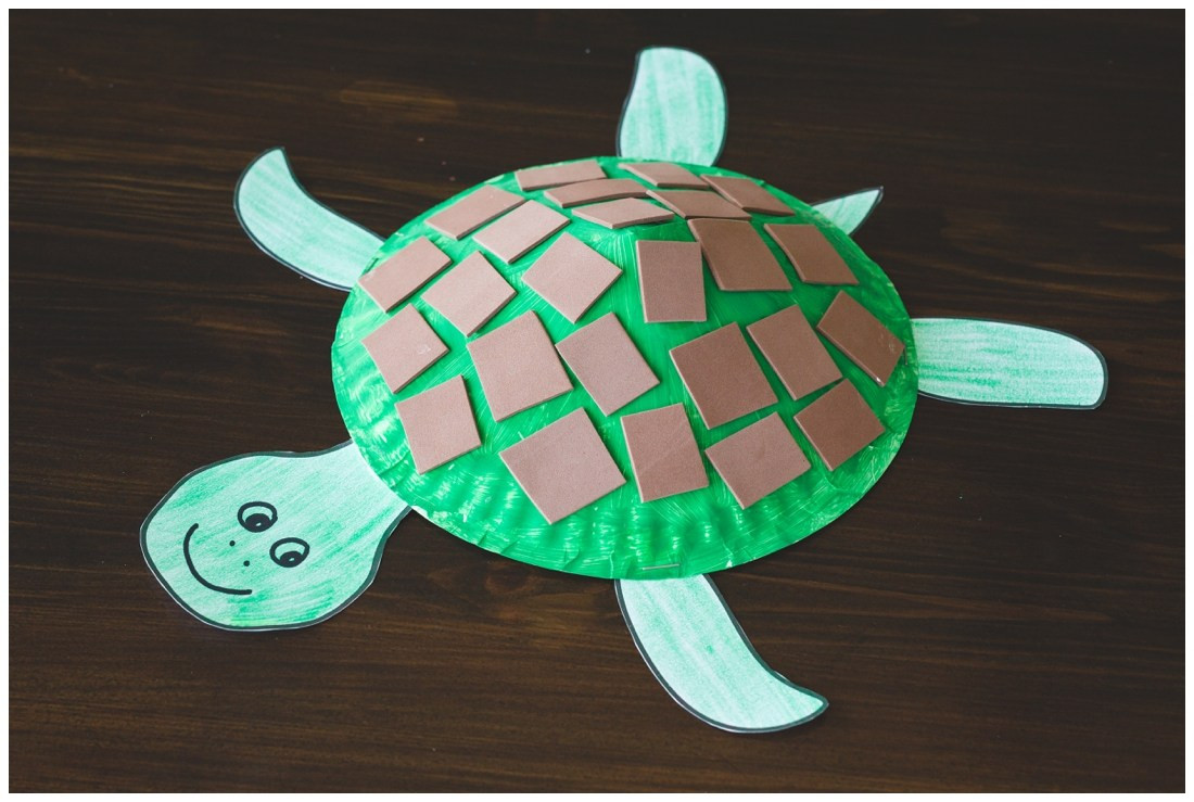 Best ideas about Free Kids Crafts . Save or Pin Paper Plate Turtle Craft for Kids Free Printable Now.