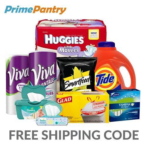Best ideas about Free Prime Pantry Shipping . Save or Pin Amazon Prime Pantry Free Shipping Code Now.