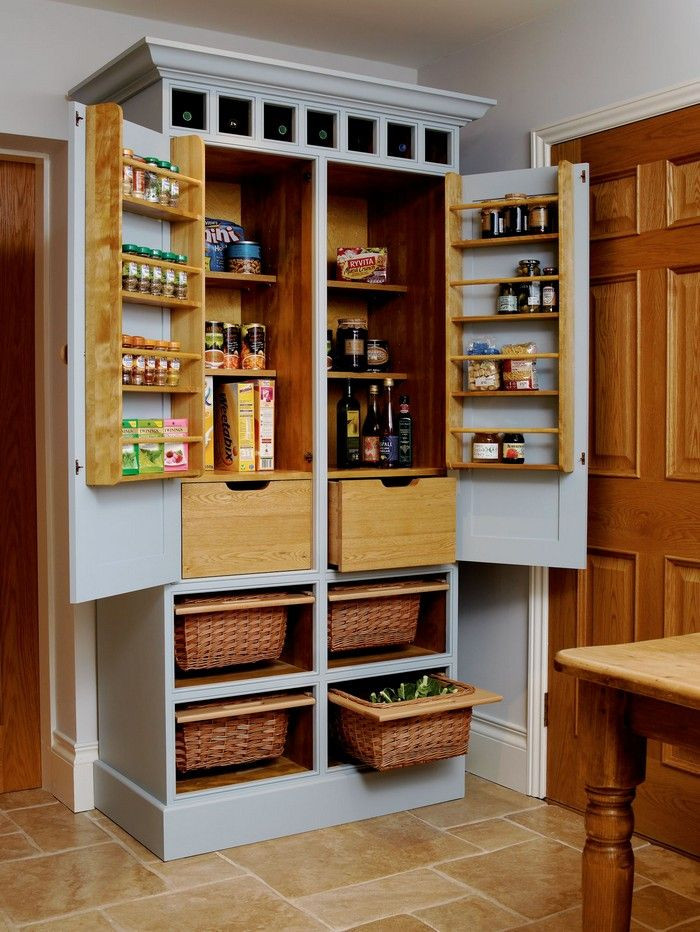 Best ideas about Free Standing Kitchen Pantry Cabinet . Save or Pin Best 25 Free standing pantry ideas on Pinterest Now.