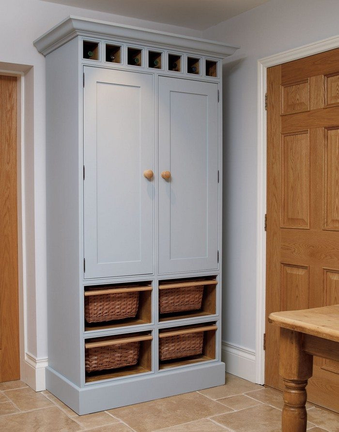 Best ideas about Free Standing Kitchen Pantry Cabinet . Save or Pin Build a freestanding pantry Now.
