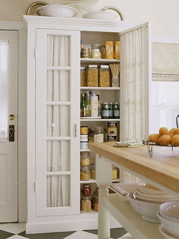 Best ideas about Free Standing Kitchen Pantry Cabinet . Save or Pin Free Standing Pantry on Pinterest Now.