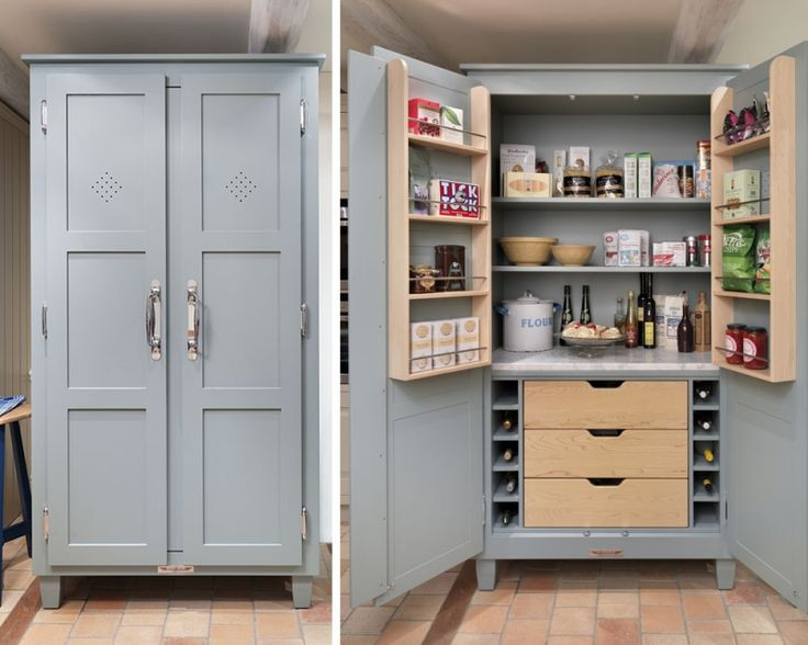 Best ideas about Free Standing Kitchen Pantry Cabinet . Save or Pin Best 25 Pantry cupboard ideas on Pinterest Now.